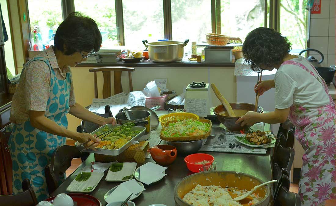 奥様たちの手料理